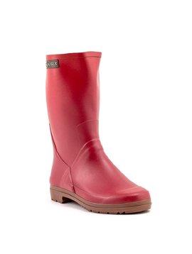 Aigle Botano Lady Rubber Boots Cardinal