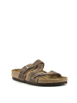 Birkenstock Salina Canberra Old Tabacco Natural Leather Regular Width