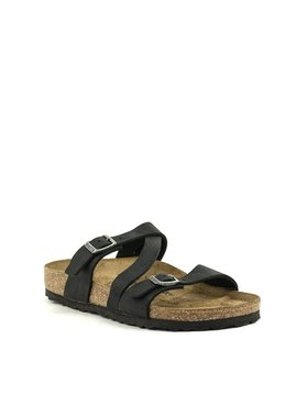 Birkenstock Salina Black Natural Leather