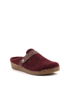 Earth janet Clog Merlot