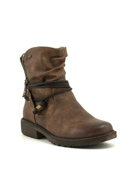 Relife 8717-14811B-36R Short Zip Boot Brown