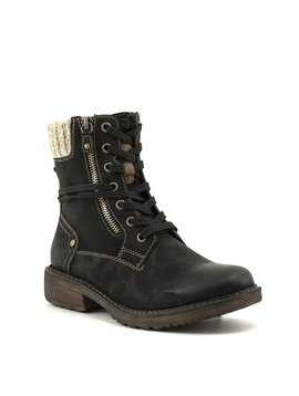 Relife 8717-14811B-32R Lace-Up Boot Black