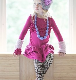 peppercorn kids SEQUIN HEART.PURPLE.L