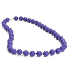 CHEWBEADS JANE NECKLACE.CLASSIC PURPLE