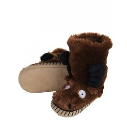 Hatley MOOSE SLIPPER.M(8-10)