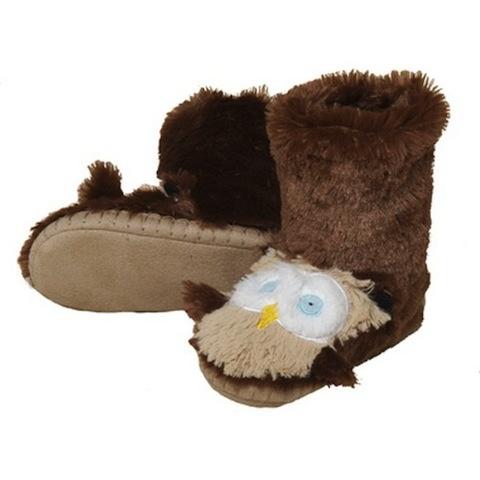 Hatley OWL SLIPPER.L(11-13)