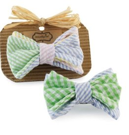 Mud Pie CLIP ON BOW TIES.MULTI