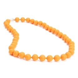 CHEWBEADS JANE NECKLACE.CREAMSICLE