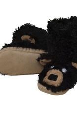 Hatley BLACK BEAR SLIPPER.M(8-10)
