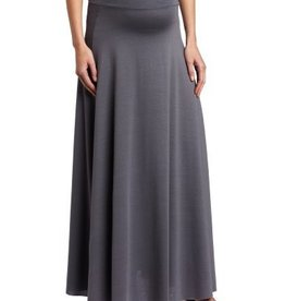 NOM RACHAEL LONG SKIRT.GREY.M