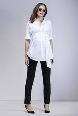 Isabella Oliver TIE FRONT BLOUSE.WHITE.4