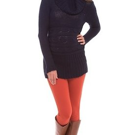 Olian LS COWL NECK SWEATER.NAVY.XS
