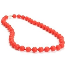 CHEWBEADS JANE NECKLACE.CHERRY RED
