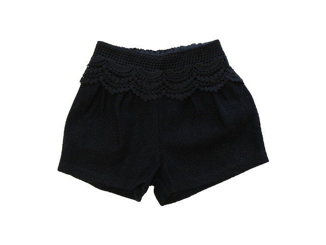 Dino Bebe LACE WINTER SHORT.NAVY.7