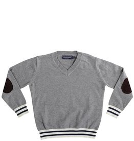 Toobydoo V NECK SWEATER.GREY.6