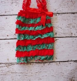 LACEROMP.RED/GREEN.0-6M