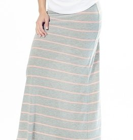Lilac MAXI SKIRT.GRY.M