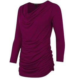 Isabella Oliver ESSENTIAL NURSING TOP.BERRY.2