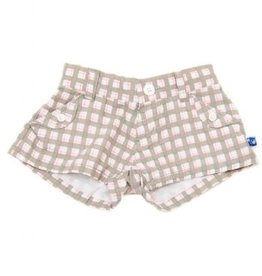 CHECKER SHORTS-GIRL.6Y