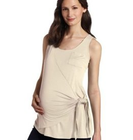 Maternal America SIDE WRAP TANK.OYSTER.XS