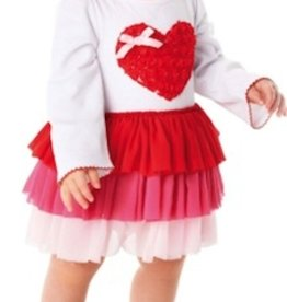 Mud Pie HEART DRESS.4T