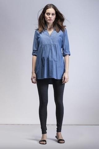 Isabella Oliver TUNIC.CHAMBRAY.2