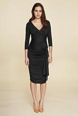 Isabella Oliver RUCHED WRAP DRESS.2