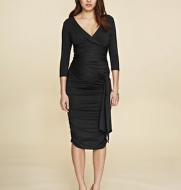 Isabella Oliver RUCHED WRAP DRESS.2
