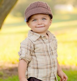 Rugged Butts NEWSBOY.BRN.2-4T