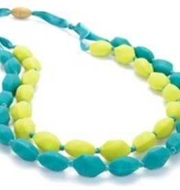 CHEWBEADS ASTOR NECKLACE.CHARTREUSE