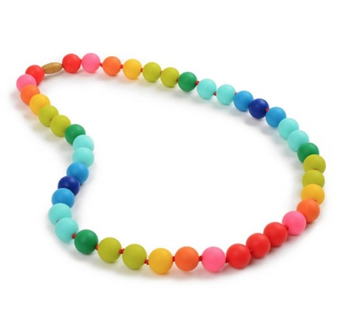 CHEWBEADS CHRISTOPHER NECKLACE.RAINBOW