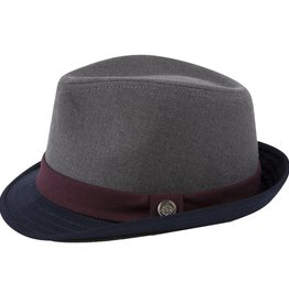 ANDY & EVAN FEDORA.GREY/NAVY/MAROON.5-7Y