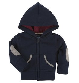 ANDY & EVAN ZIP UP HOODIE.NAVY.12M