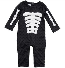 Mud Pie SKELTON ONE PC.0-6M