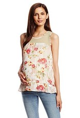 Lilac HOLLY TOP.FLORAL C.L