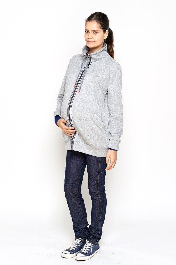 IMANIMO PIPER SWEATSHIRT.GRAY.XS