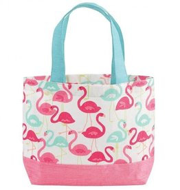 Mud Pie Flamingo Mini-Tote
