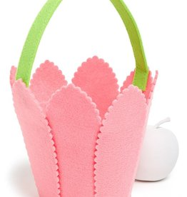 Mud Pie TULIP BASKET