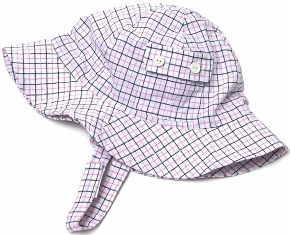 egg SHIRTING SUNHAT.NVY.M