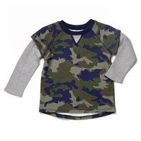 egg FRENCH TERRY SHRIT.CAMO.4T