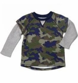 egg FRENCH TERRY SHRIT.CAMO.2T