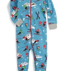 Hatley FOOTED COVERALL.ORNAMENTS.3-6M