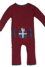 Kickee Pants fitted app coverall