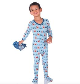 Kickee Pants Boy Footies