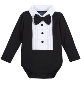 ANDY & EVAN Black Tuxedo w/ White Bib- Black