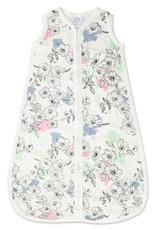 aden+anais silky soft sleeping bag.