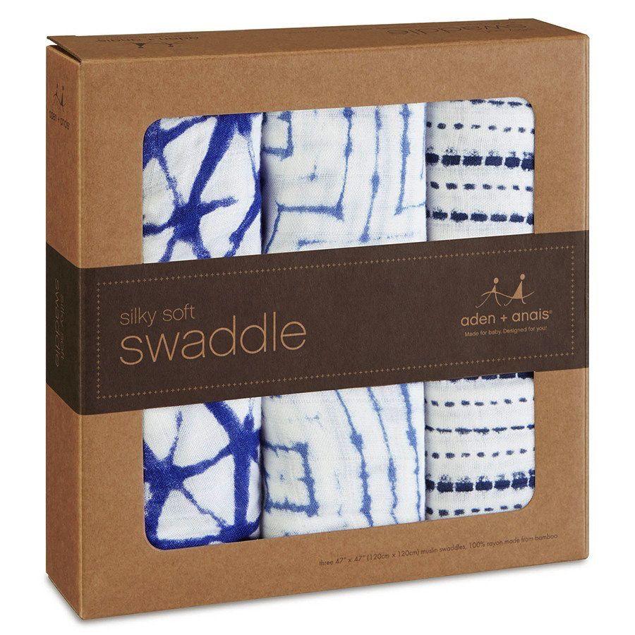 aden+anais Silky Bamboo Swaddles