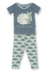 Kickee Pants Short Sleeve PJ Set