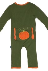 Kickee Pants Holiday Fitted Coverall