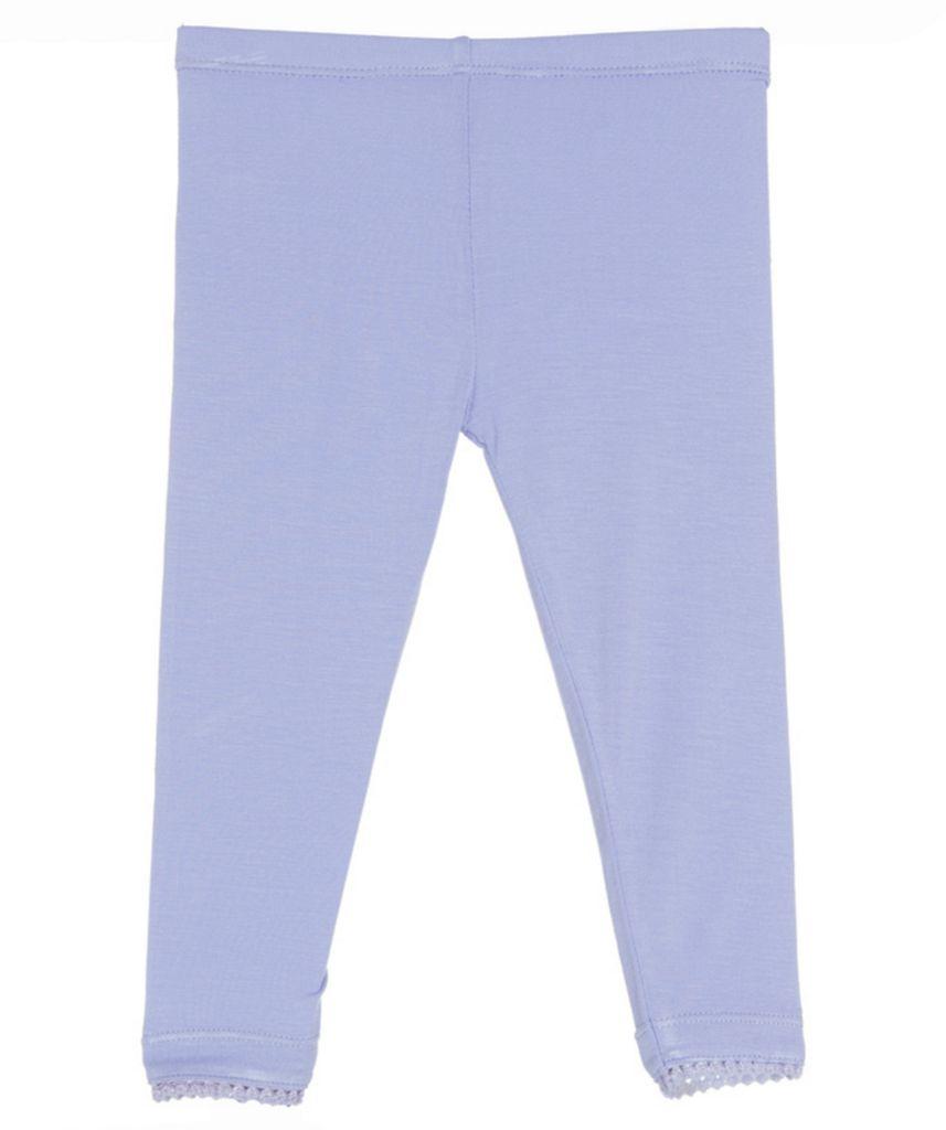 Kickee Pants solid scalloped legging